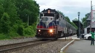 Railfanning Spirit of Union Pacific at Tuxedo N.Y. 6-3-18