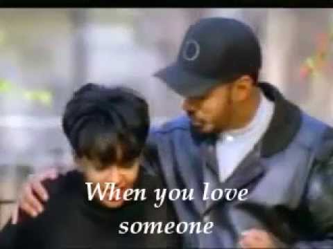 Anita Baker & James Ingram When You Love Someone Lyrics