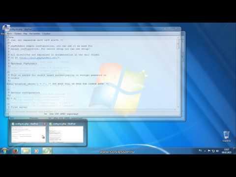 Как установить и настроить Web-SERVER на Windows