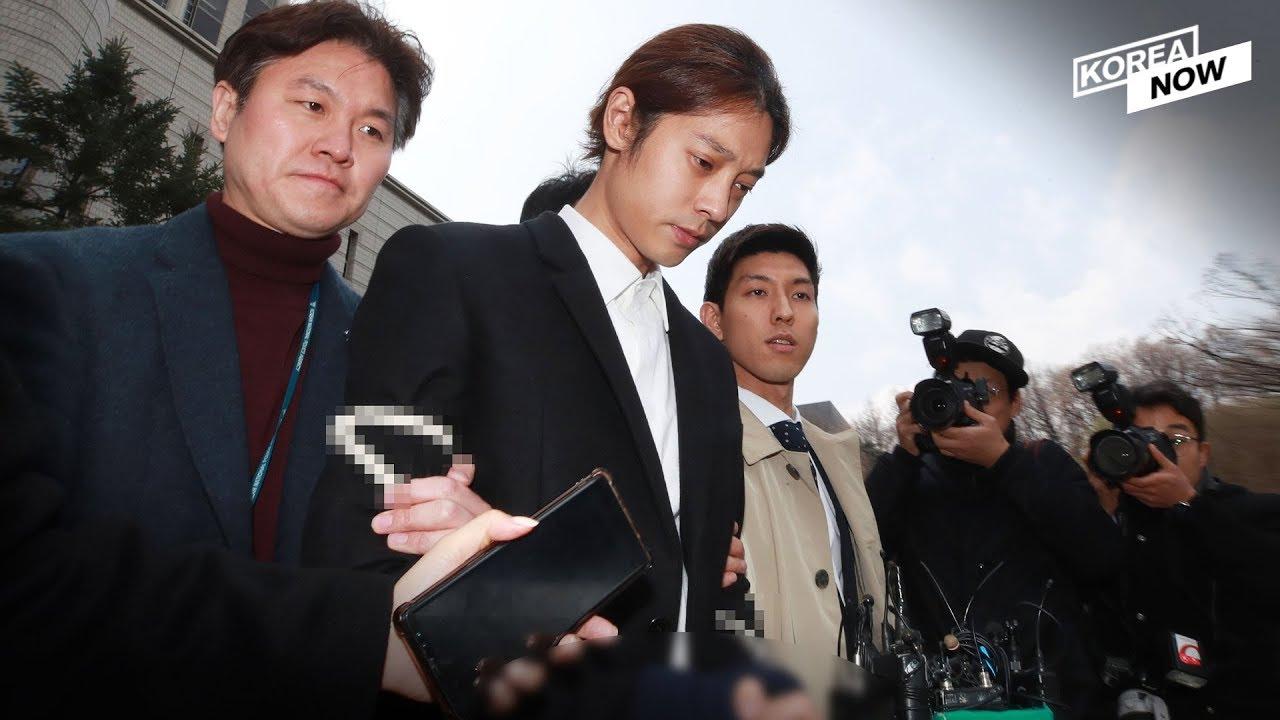 Imagini pentru jung joon young handcuffed