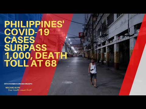 BREAKING NEWS: Philippines' COVID-19 Cases Surpass 1,000, Death Toll At 68
