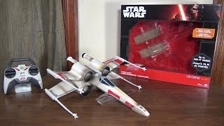Air Hogs - Star Wars X-Wing Starfighter - Review and Flight (with How To Fly tips)