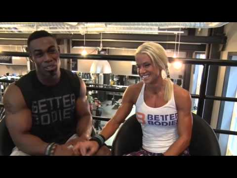 Ian Gaines and Helene Ahlson - Push Pull Workout in Stockholm