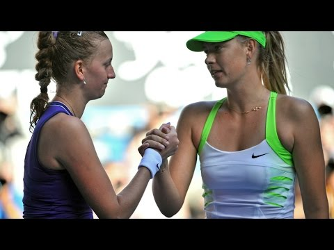Maria Sharapova VS Petra Kvitova 2012 AO SF(Full)
