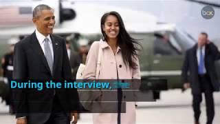 Barack Obama sits down with David Letterman, talks family