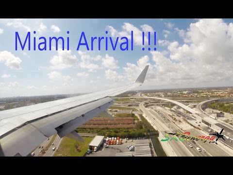 American Airlines 737-800 arrival @ Miami International Airport (HD)