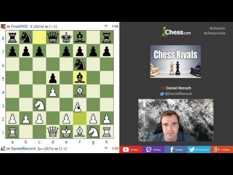Chess Rivals: IM Danny Rensch vs IM John Bartholomew Live Bullet Chess