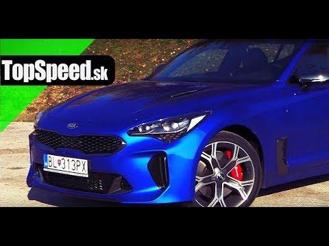 Jazda KIA Stinger 3.3 V6 - TopSpeed.sk