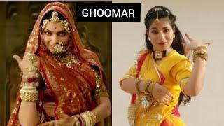 Ghoomar | Padmaavat | Deepika Padukone | Original Choreography | Full song dance cover  | Bollywood