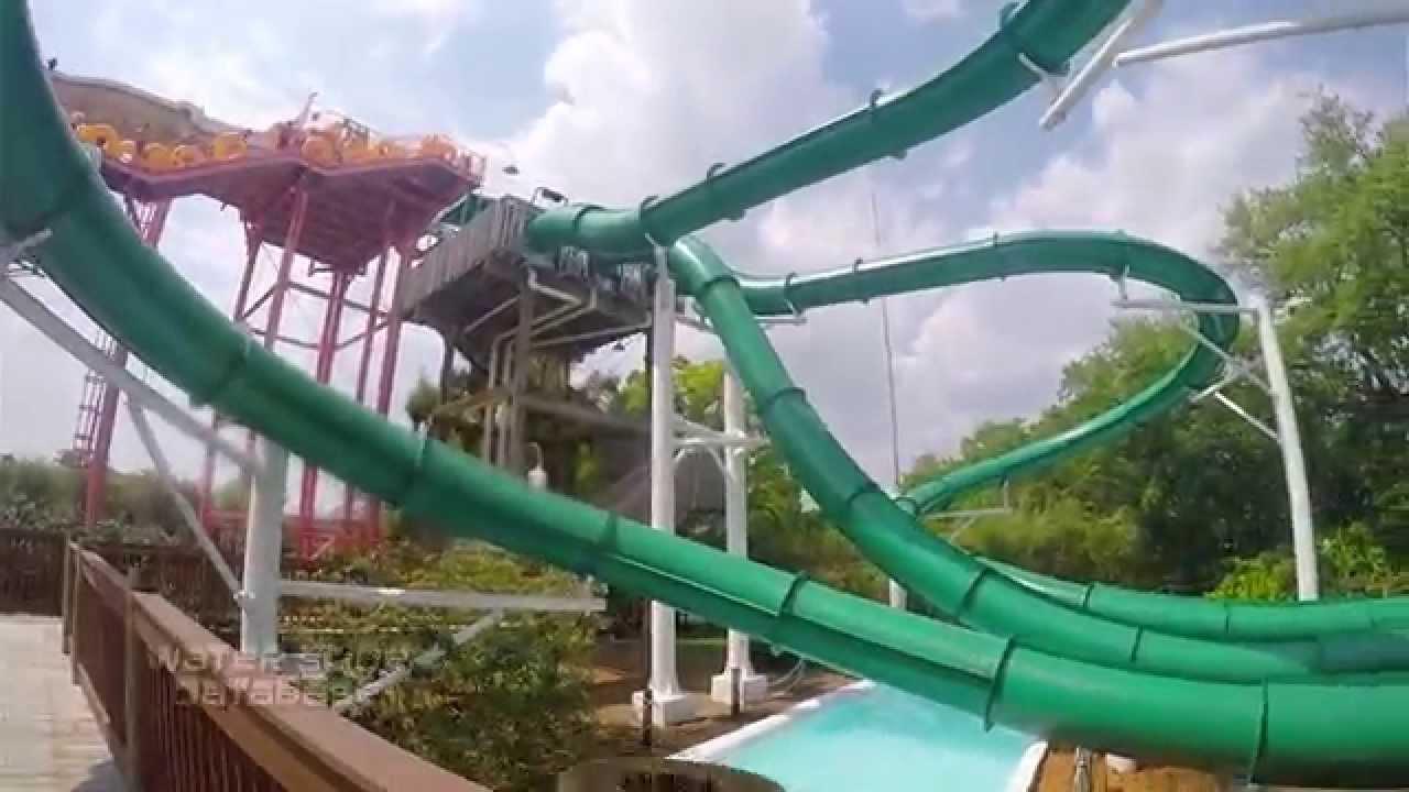 "Adventure Island Tampa: ""Water Mocassin"" Speed Slide POV's Adventure Island (Tampa"