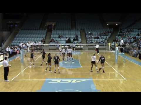 Taylor Treacy - University of North Carolina vs. Texas Christian University 2016 Women's Volleyball