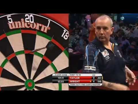 2015 Dubai Duty Free Darts Masters - Phil Taylor v Peter Wright