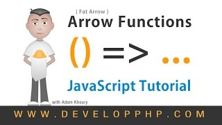 Fat Arrow Functions JavaScript Programming Tutorial