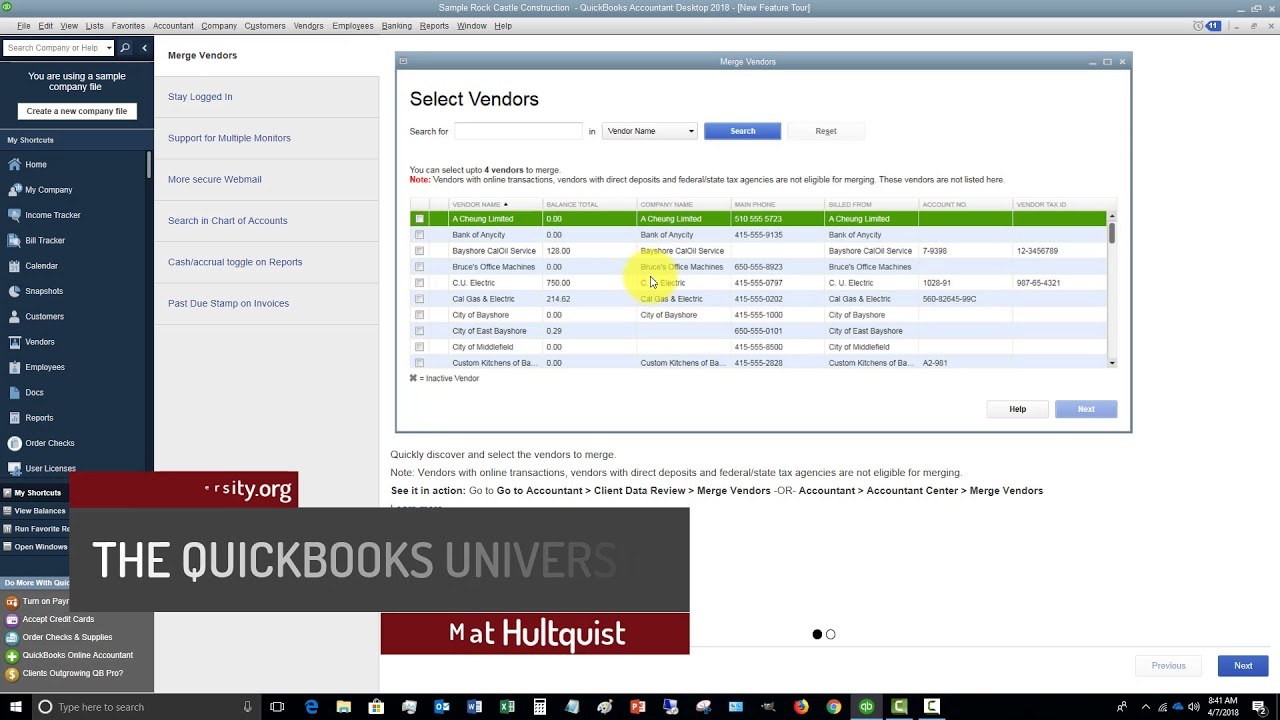 quickbooks 2018 wont close