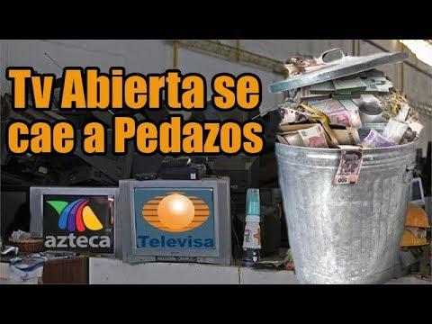 Televisa y TV Azteca Presentan la Mayor Pérdida en Años
