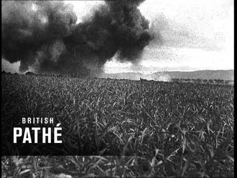 Air Attack On Bou Arada - Tunisia (1943)