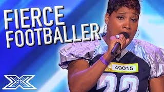 Video FANTASTIC American Footballer SURPRISES Judges! | X Factor Global download MP3, 3GP, MP4, WEBM, AVI, FLV Juni 2018