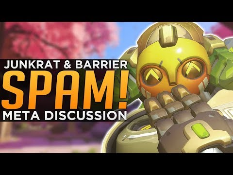 Overwatch: Junkrat SPAM & BARRIER Meta Coming?! - Season 6 M