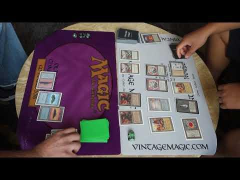 BUDGET $200 {Mono Blue} Vs. $15,000 {The Deck} | MTG Old School Magic Battle {Video 1 Of 3}