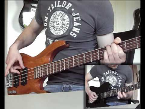Papa Roach - Forever [Bass and Guitar Cover] HQ