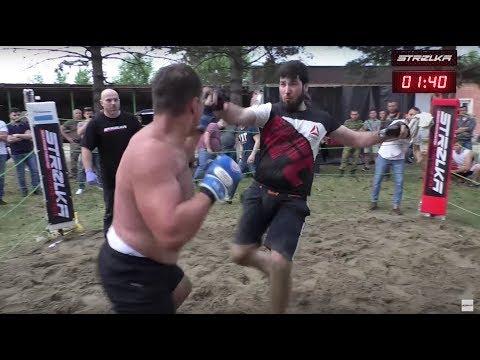 Like a UFC vs Russian Street Fighter