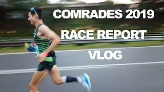 COMRADES ULTRA MARATHON 2019 RACE REPORT VLOG  SAGE CANADAY RUNNING