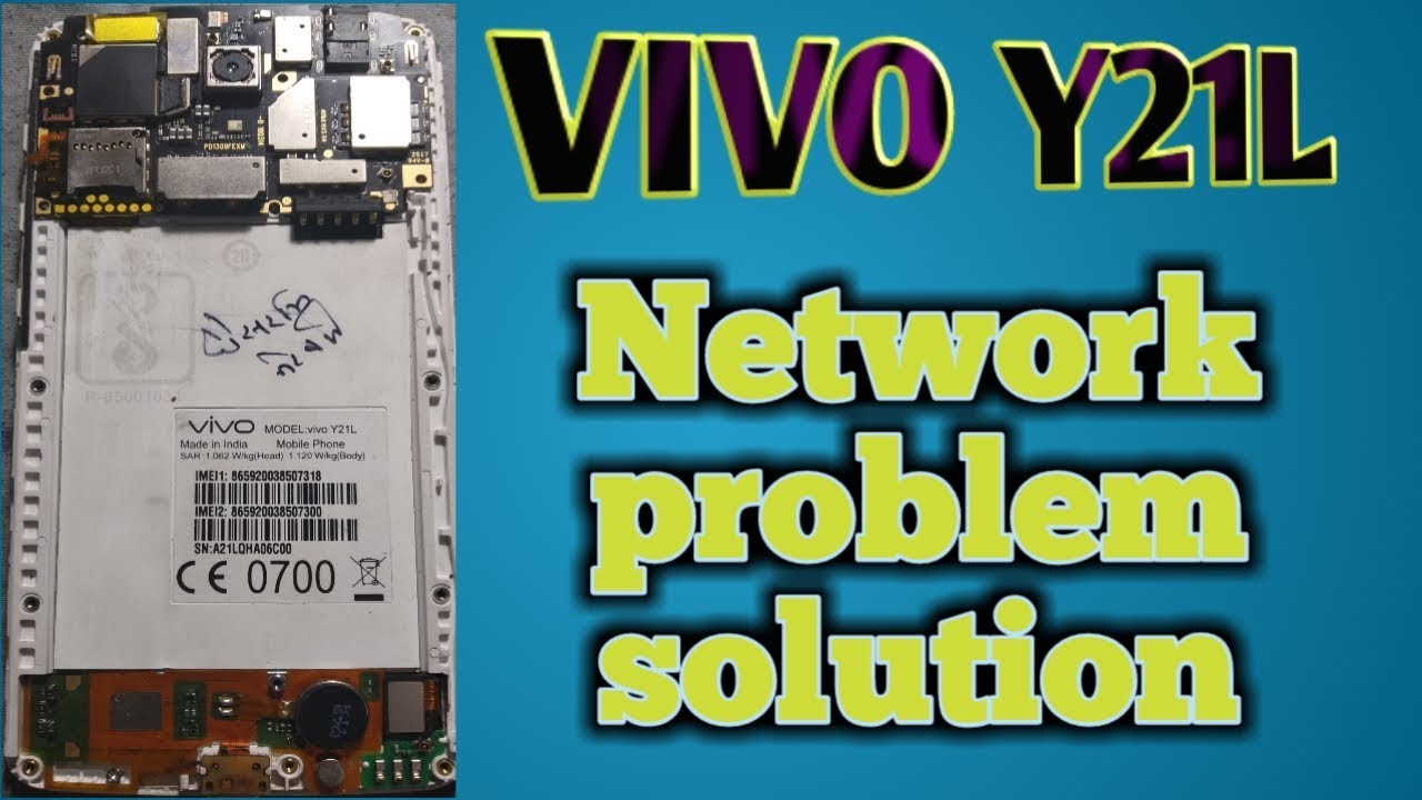 Vivo Y21L Y51L Y53 Y55s v5+ v7+ And Any Android Network Problem Solution  ALL MOBILE NETWORK SOLUTION