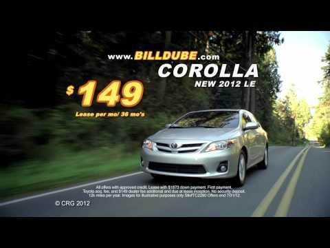 Sound of Savings Toyota Corolla