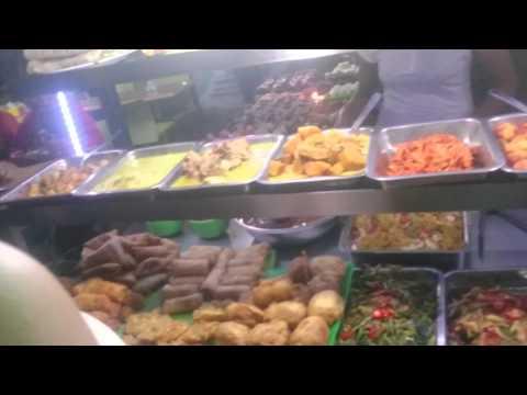 Bali, GILI, local Fast food market