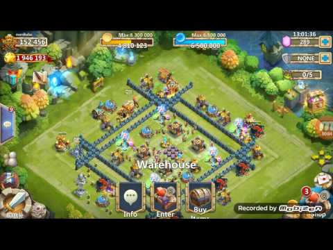 Castle Clash Opening Fortress Few Chests