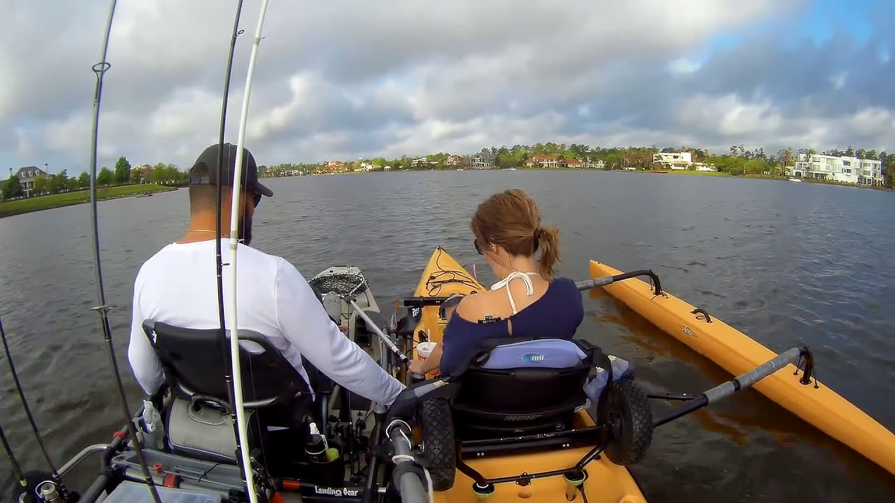 New fishing with wife 2017 hobie island kayak bass for New fishing kayaks 2017
