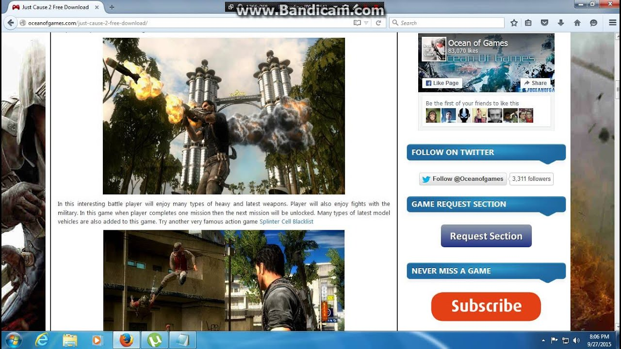 just cause 2 pc free download full game