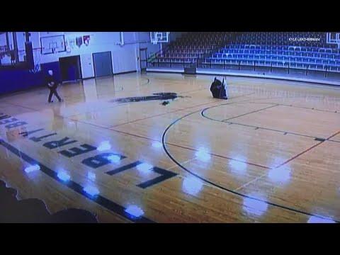 Custodian Gets Caught On Security Camera