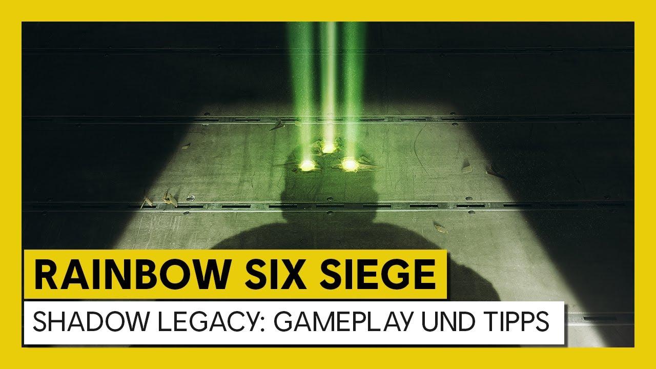 [AUT] Tom Clancy's Rainbow Six Siege – Shadow Legacy : Gameplay und Tipps thumbnail