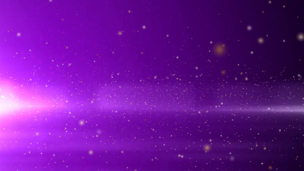 Motion Graphics | Free Background | No Copyright | Particles Space | Purple - YouTube