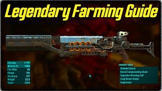Fallout 4 Legendary Items Farming Guide How to Get the Best Gauss Rifles Other Rare Weapons