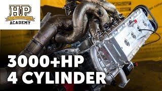 [TECH TALK] 3000HP, 10,500RPM 4 Cylinder | Elmer Racings 106kg Billet Block