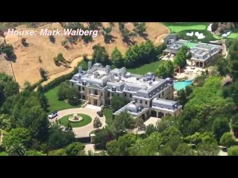 Flying Over Denzel Washington S Mansion Youtube