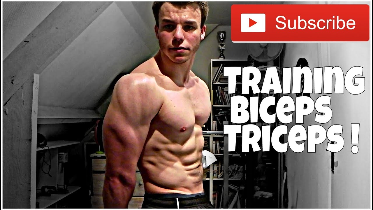 Programme biceps triceps musculation des bras youtube for Programme de musculation