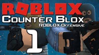 Lets Play Counter Blox: Roblox Offensive - Part 1 - Das lächerlichste Spiel der Welt!