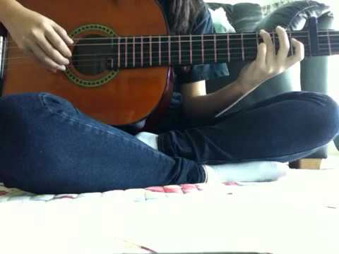 Stay Just a Little - Kina Grannis (guitar cover)
