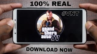 DOWNLOAD NOW FOR ANDROID-REAL GTA 4 FOR ANDROID WITH GAMEPLAY HINDI