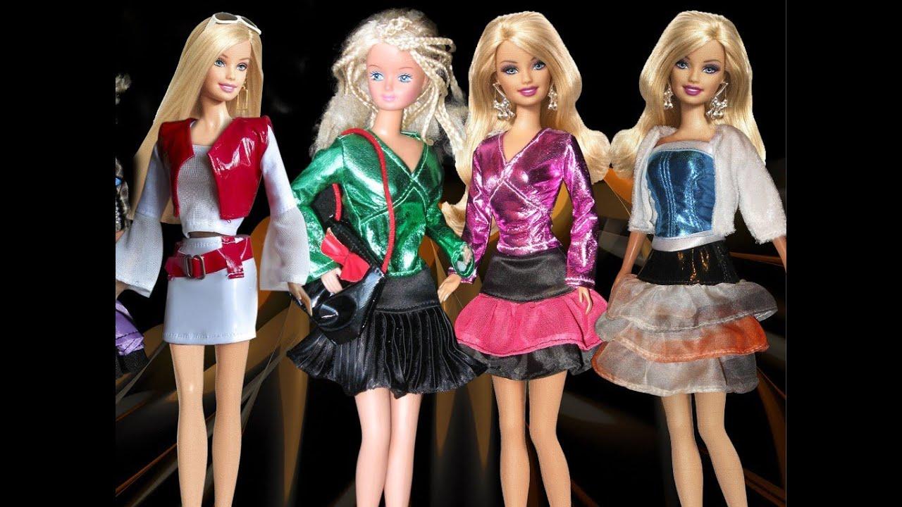Как быстро сшить платье для куклы фото 183