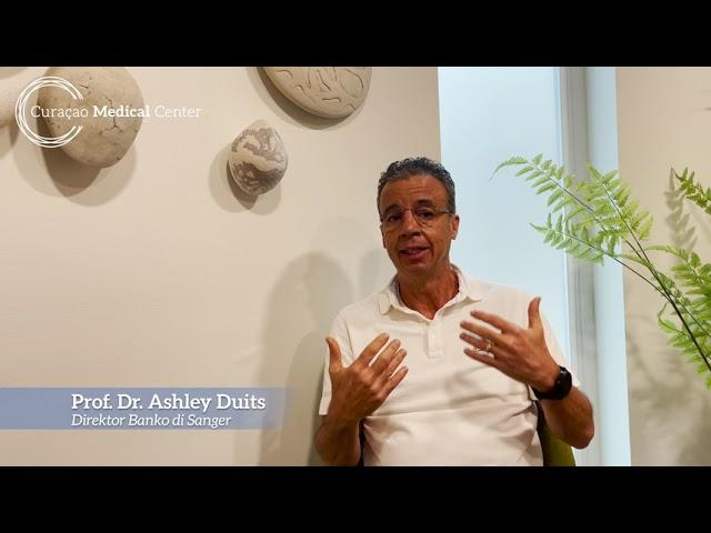 Prof. Dr. Ashley Duits - Dia mundial di donante di Sanger