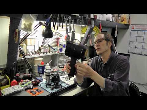 Hitachi framing nailer disassembled and parts that go bad