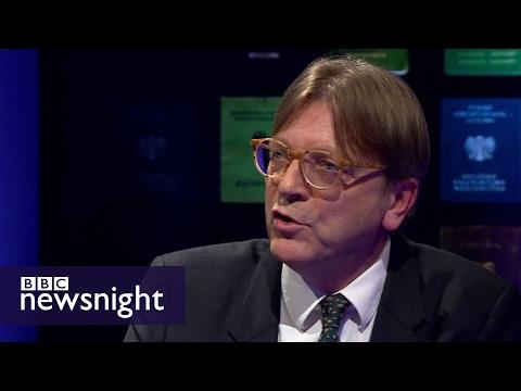 Guy Verhofstadt: Theresa May