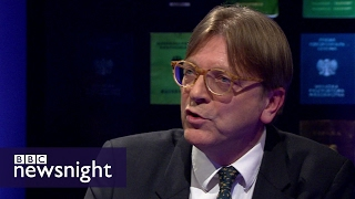 Guy Verhofstadt: Theresa May