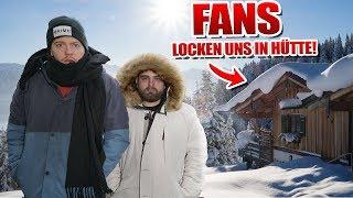 LETS DRAW! - Fans locken uns in Waldhütte..