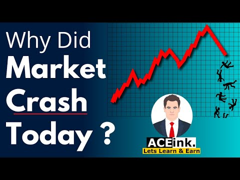 Stock MARKET CRASH Today | NIFTY SENSEX CRASH Today | Latest Share Market News | Lockdown News