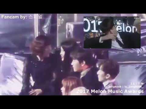 IU laughing at jungkook being EXTRA😂😂